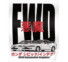 FWD Honda Demons Poster