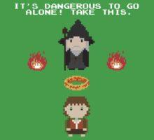 Zelda Of The Rings Kids Tee