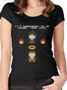 Zelda Of The Rings Women's Fitted Scoop T-Shirt
