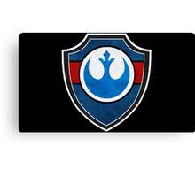 Rebel Alliance Badge Canvas Print