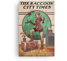 The Raccoon City Times 1998 Metal Print