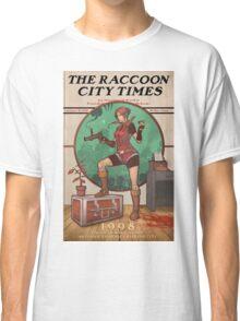 The Raccoon City Times 1998 Classic T-Shirt