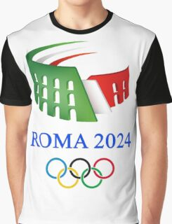 Rome 2024 Olympics best logo Graphic T-Shirt