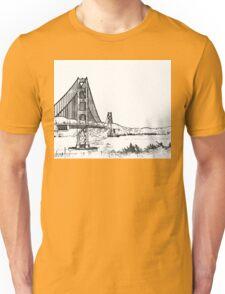 Golden Gate Bridge - San Francisco Unisex T-Shirt