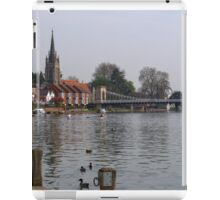 Marlow by The River Thames iPad Case/Skin