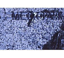 1980's Metropark Sign Photographic Print