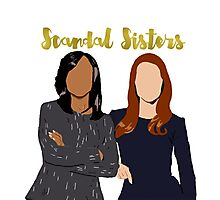 Scandal Sisters Photographic Print