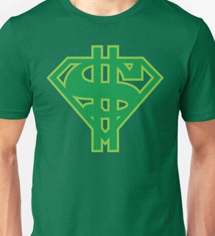 SuperMoney Emblem Unisex T-Shirt