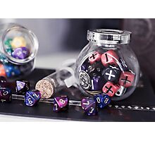 Dice Lover Photographic Print