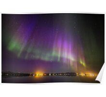 Aurora Borealis, Iceland Poster