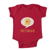 The Cheesy Dialogue One Piece - Short Sleeve