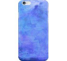 Purple Blue Watercolor Paper  iPhone Case/Skin