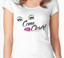 Flu Teas'n Women's Fitted Scoop T-Shirt