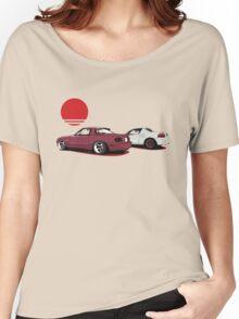 JDM Sunset Women's Relaxed Fit T-Shirt
