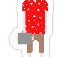 Fear and Loathing in Las Vegas (pixel art) Sticker