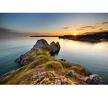 Three Cliffs Bay, Gower Photographic Print