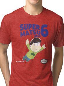 Super Matsu Bros 6 Choromatsu Tri-blend T-Shirt