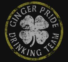 Irish Ginger Pride Drinking Team One Piece - Long Sleeve