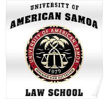 UNIVERSITY OF AMERICAN SAMOA SWEATER BETTER CALL SAUL Poster