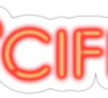Lucifer Tv Series Sticker