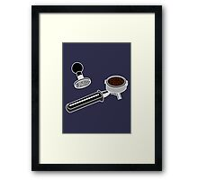 Coffee Monkey - Tools of the trade Framed Print