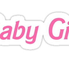 Baby Girl Sticker
