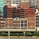 City - Pittsburg Pa - Fort Pitt Blvd by Mike  Savad