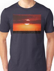 Sunset Over the Ocean Unisex T-Shirt