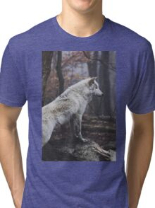 Wolf Neighborhood  Tri-blend T-Shirt