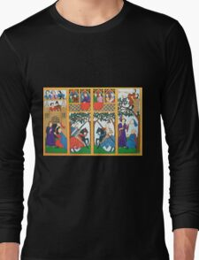 Medieval Scene Long Sleeve T-Shirt