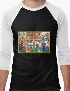 Medieval Scene Men's Baseball ¾ T-Shirt