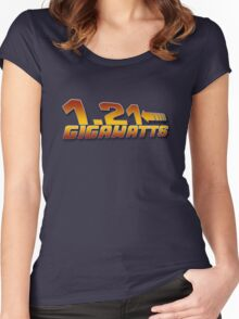 1.21 GIGAWATTS ? Women's Fitted Scoop T-Shirt