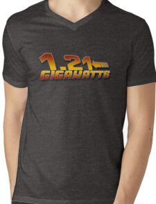 1.21 GIGAWATTS ? Mens V-Neck T-Shirt