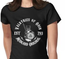 Valkyries of Odin - Midgard Original Womens Fitted T-Shirt