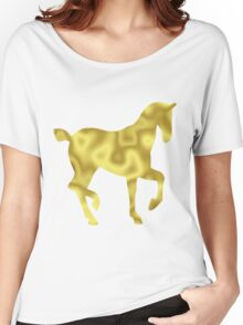 The Gold Horse Women's Relaxed Fit T-Shirt