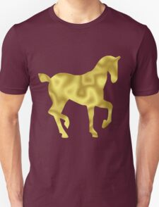 The Gold Horse Unisex T-Shirt