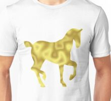 The Gold Horse Unisex T-Shirt