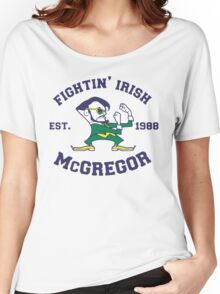 Fightin' Irish McGregor (Suited and Booted) Women's Relaxed Fit T-Shirt