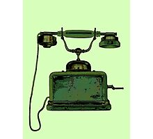 Hanging on the Telephone Photographic Print