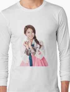Simple Seoulhyun Long Sleeve T-Shirt