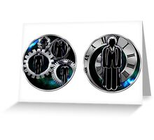 Doctor Who - 110th Doctor - David Tennant/Monsters Mugs Greeting Card