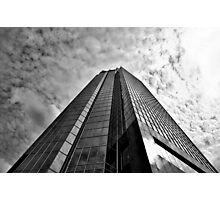 Glass tower Photographic Print