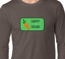 Happy Vegan Long Sleeve T-Shirt