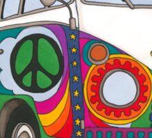 Psychedelic Kombi Sticker