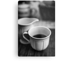 Still life with tea Metal Print
