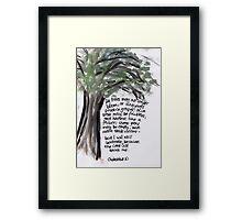 Habakkuk 3: Celebrate Framed Print