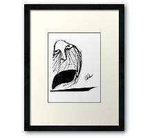 Fear and Loathing!  Framed Print