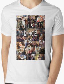Just Like a Family (Criminal Minds) Mens V-Neck T-Shirt