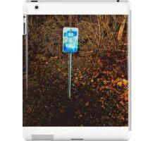 No Motorized Vehicles iPad Case/Skin