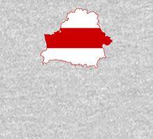 Flag Map of Belarus, 1918, 1991-1995 Unisex T-Shirt